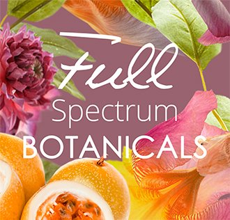 To add to our holistic approach to skincare, we have chosen to use only full spectrum extracts.